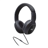 Headphone Bass GO com Microfone Preto 1 UN i2GO
