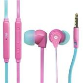 Fone de Ouvido Flat com Microfone Rosa 1 UN i2GO