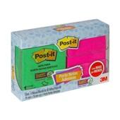 Dispensador Pop Up Post-it com 4 Blocos 76x76mm Transparente 1 UN 3M