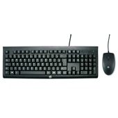 Kit Teclado + Mouse USB C2500 1 UN HP
