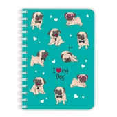 Caderno Médio Sweet Pet Dog 192 FL 1 UN Redoma