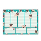 Planner Semanal Sweet Pet Dog 104 Páginas 1 UN Redoma
