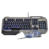 Teclado e Mouse Gamer Warrior Superfície em Metal TC223 1 UN Warrior