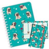 Kit Planner Caderno e Caderneta Sweet Pet Dog Redoma