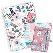 Kit Planner Caderno e Caderneta Sweet Preguiça Redoma