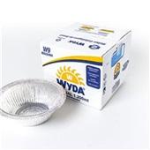 Embalagem Redonda de Alumínio para Alimento 1200ml CX 100 UN Meiwa