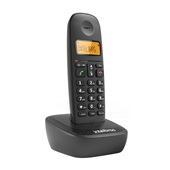 Telefone sem Fio Digital DECT 6.0 Preto TS-2510 Intelbras