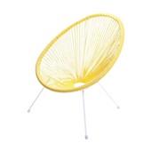 Cadeira Acapulco Amarelo 1 UN OR Design