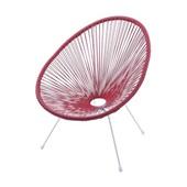 Cadeira Acapulco Vermelho 1 UN OR Design