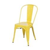 Cadeira de Jantar Retrô Amarelo 1 UN OR Design