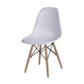 Cadeira Eames com Base de Madeira Branca 1 UN OR Design