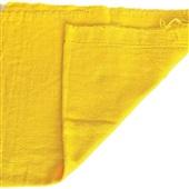 Pano de Chão Saco Alvejado 44x64cm Amarelo 1 UN Fortfio