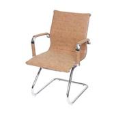 Cadeira Eames Clássica Charles Base Cromada Caramelo 1 UN OR Design