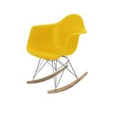 Poltrona de Balanço Eames Amarelo 1 UN OR Design