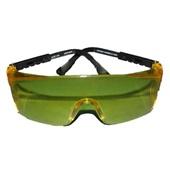 Óculos de Segurança Rio de Janeiro Policarbonato Amarelo 1 UN Dystray