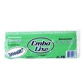 Saco de Lixo Econômico 8L Branco 34x38cm 0,016 PT 50 UN Embalixo