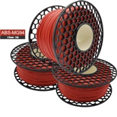 Filamento para Impressora 3D ABS MG94 Premium Vermelho 1kg 1 UN VM3D