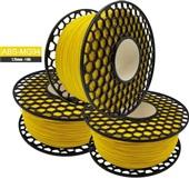 Filamento para Impressora 3D ABS MG94 Premium Amarelo 1kg 1 UN VM3D