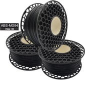 Filamento para Impressora 3D ABS MG94 Premium Preto 1kg 1 UN VM3D
