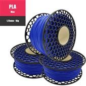 Filamento para Impressora 3D Pla Max Premium Azul 1kg 1 UN VM3D