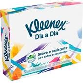 Lenço de Papel Dia a Dia Folha Dupla 12,7x21,2cm CX 50 FL Kleenex