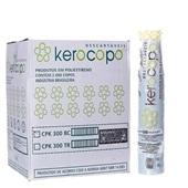 Copo Descartável Branco 300ml CX 2000 UN Kerocoppo