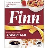 Adoçante em Pó Aspartame Sachê 0,8g CX 50 UN Finn