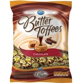 Bala Butter Toffees Chocolate 600g 1 Pacote Arcor