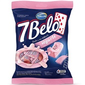 Bala 7 Belo Iogurte 150g 1 UN Arcor