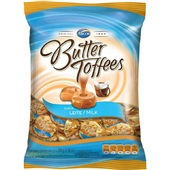Bala Butter Toffees Leite 100g Arcor