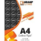 Papel Carbono Preto A4 21x29,7cm 100 FL GE-927 Grampline