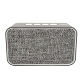 Caixa de Som Speaker Weave Bluetooth 10W Cinza SK407 1 UN OEX