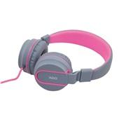 Headphone Neon Cinza e Rosa HS106 1 UN OEX