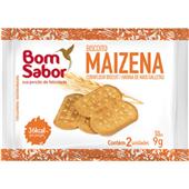 Biscoito Maizena Sachê 9g CX 180 UN Bom Sabor