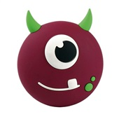 Speaker Kids Boo Bluetooth Roxo SK301 1 UN OEX