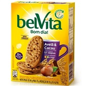 Biscoito Avelã e Cacau 75g CX 3 PT Belvita
