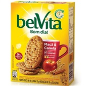 Biscoito Maçã e Canela 75g CX 3 PT Belvita