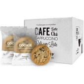 Cookie Baunilha com Gotas de Chocolate 30g CX 24 UN Pasticcino