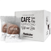 Cookie Chocolate com Gotas de Chocolate 30g CX 24 UN Pasticcino