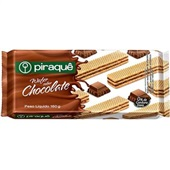 Biscoito Wafer Chocolate 160g 1 Pacote Piraquê