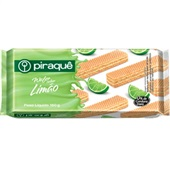Biscoito Wafer Limão 160g 1 UN Piraquê