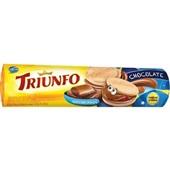 Biscoito Recheado Chocolate 120g 1 UN Triunfo