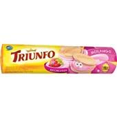 Biscoito Recheado Morango 120g 1 UN Triunfo