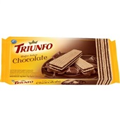 Biscoito Wafer Chocolate 115g 1 UN Triunfo