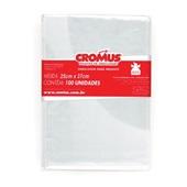 Saco para Presente Transparente 25x37cm PT 100 UN Cromus