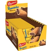 Barrinha Chocolate 25g CX 20 UN Bauducco