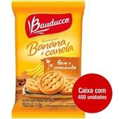 Biscoito Amanteigado Banana e Canela Sachê 11,8g CX 400 UN Bauducco