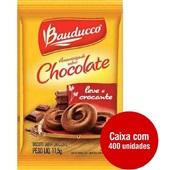 Biscoito Amanteigado Chocolate Sachê 11,5g CX 400 Pacote Bauducco