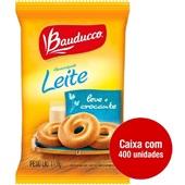 Biscoito Amanteigado Leite Sachê 11,8g CX 400 UN Bauducco