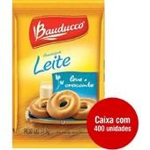 Biscoito Amanteigado Leite Sachê 11,5g CX 400 UN Bauducco